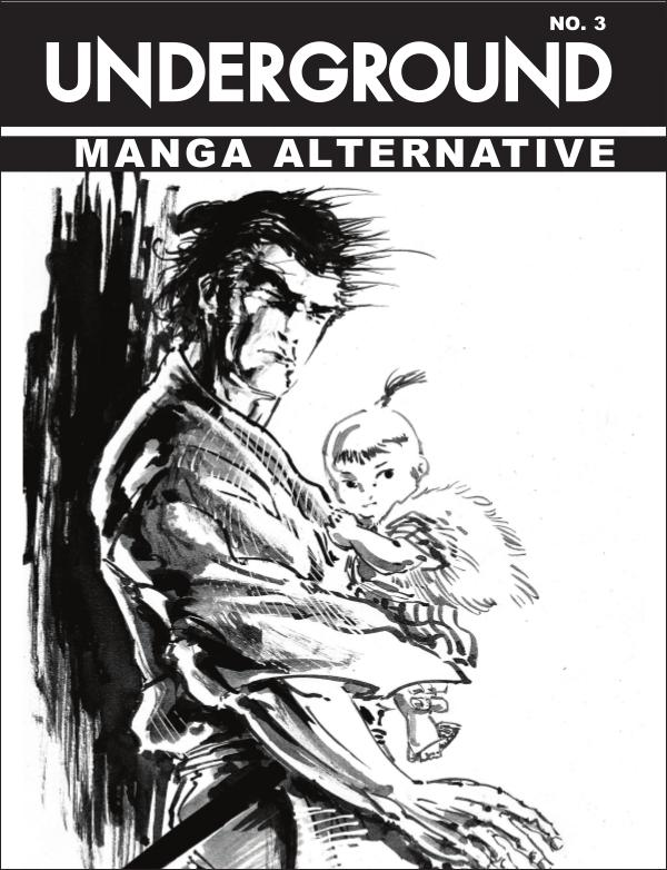 Underground Art Magazine Manga Alternative