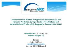 Lactose Free Food Market Boosted by Danone's Launch of Lactose-Fre