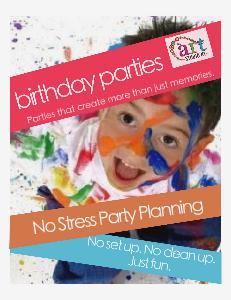 The Art Studio NY Birthday Parties Summer 2013