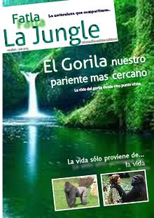 Nuestro pariente más cercano el Gorila!!..
