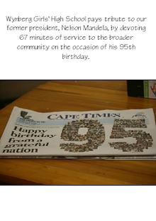 67 Minutes - Mandela Day 2013