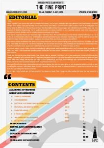 The Fine Print Issue Zero, July 2013