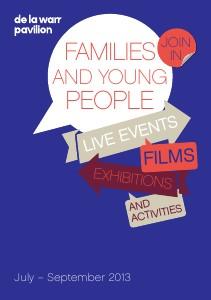 Summer Family Leaflet