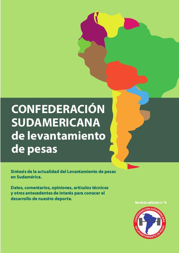revista confederación sudamericana de levantamiento de pesas 4 revista 4 confederacion sudamericana de pesas