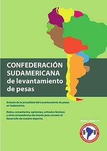 revista confederación sudamericana de levantamiento de pesas 4