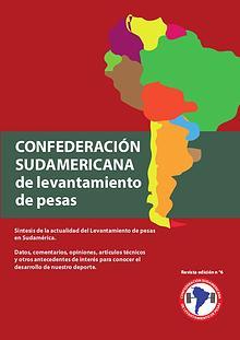 revista Sudamericana de pesas n 6