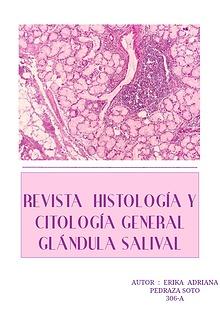 R. HISTOLOGÍA Y CITOLOGÍA GENERAL