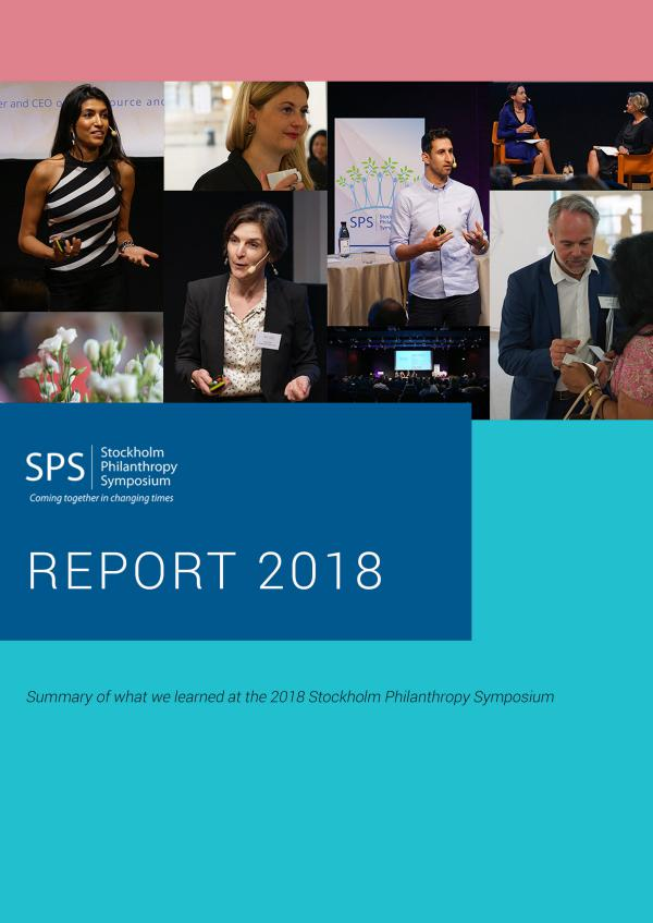 2018 Stockholm Philanthropy Symposium June 2018