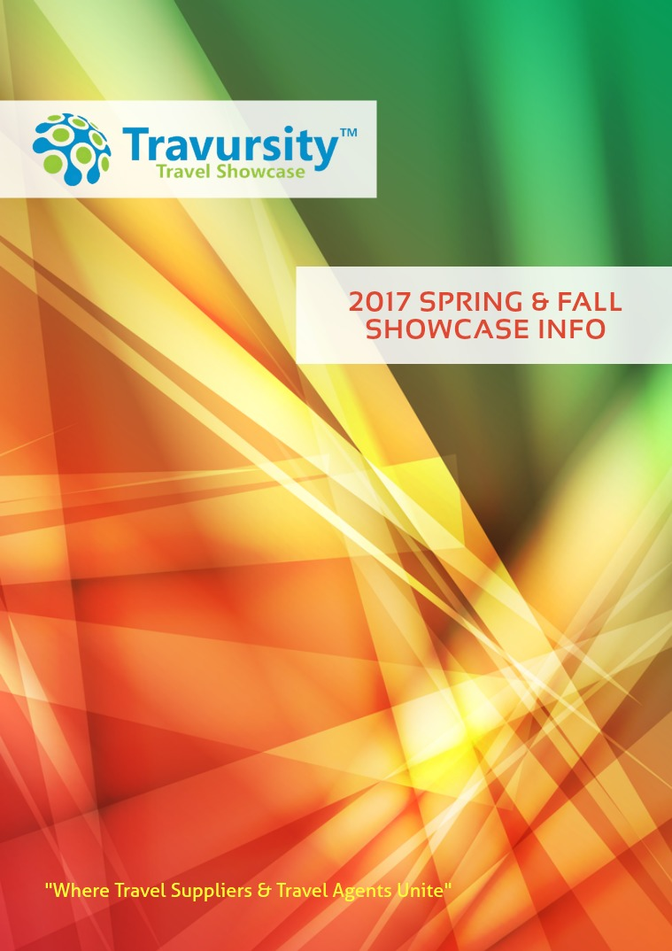 Travursity 2017 Spring & Fall Prospectus