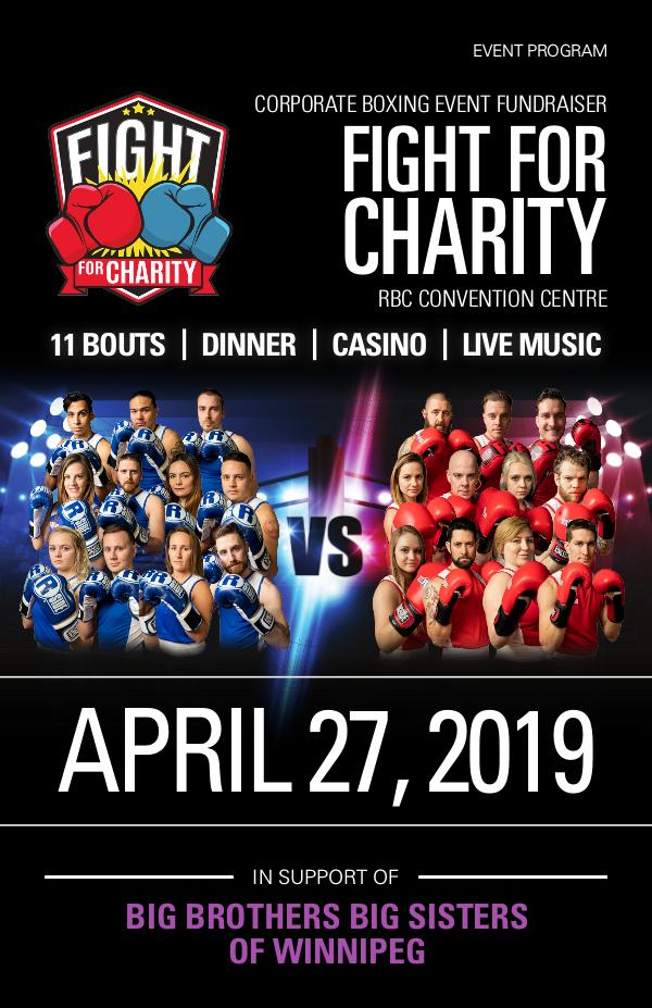 Fight For Charity Event Program Fight For Charity 2019