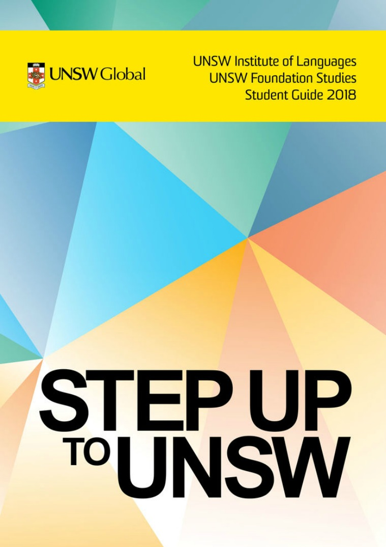 UNSW Global 2018 Student Guide English Guide