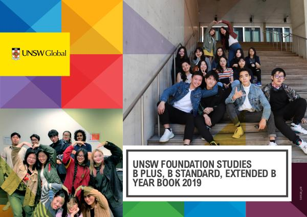 UNSW Global Yearbooks B+, B Standard, Extended B 2019
