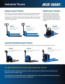 Industrial Truck Overview Brochure - Ri-Go Lift Truck Ltd.