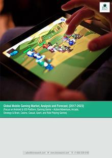Global Mobile Gaming Market Report 2017-2023
