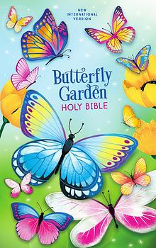 NIV Butterfly Garden Holy Bible