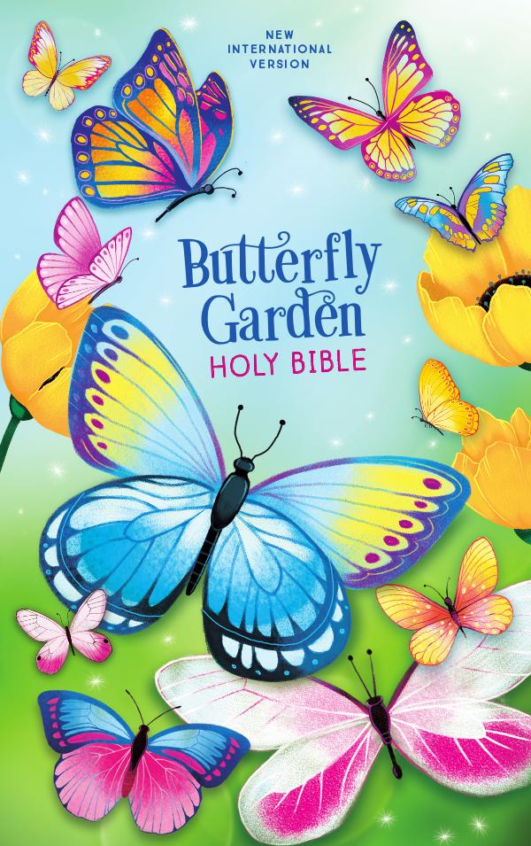 NIV Butterfly Garden Holy Bible Book of Mark,