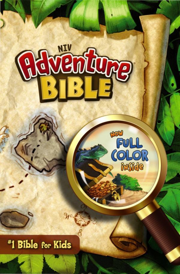 NIV Adventure Bible Adventure Bible Back to School Activities