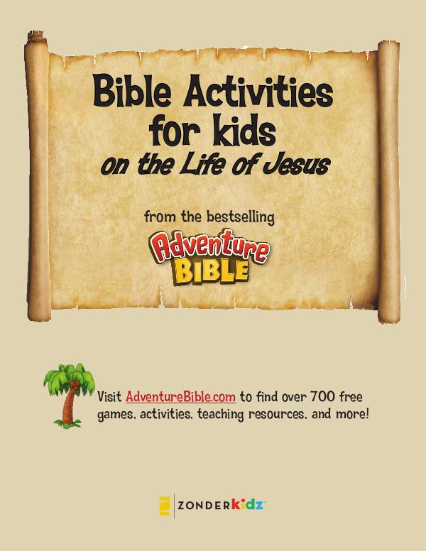 NIV Adventure Bible Life of Jesus Activities