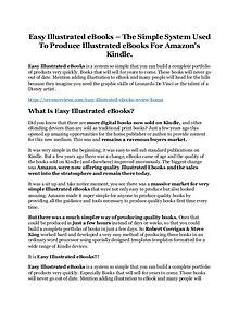 Easy Illustrated eBooks Review & (Secret) $22,300 bonus NOW