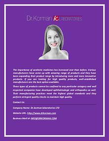 Drkorman.com: Anti-Radical Cellulite Formula Manufacturer