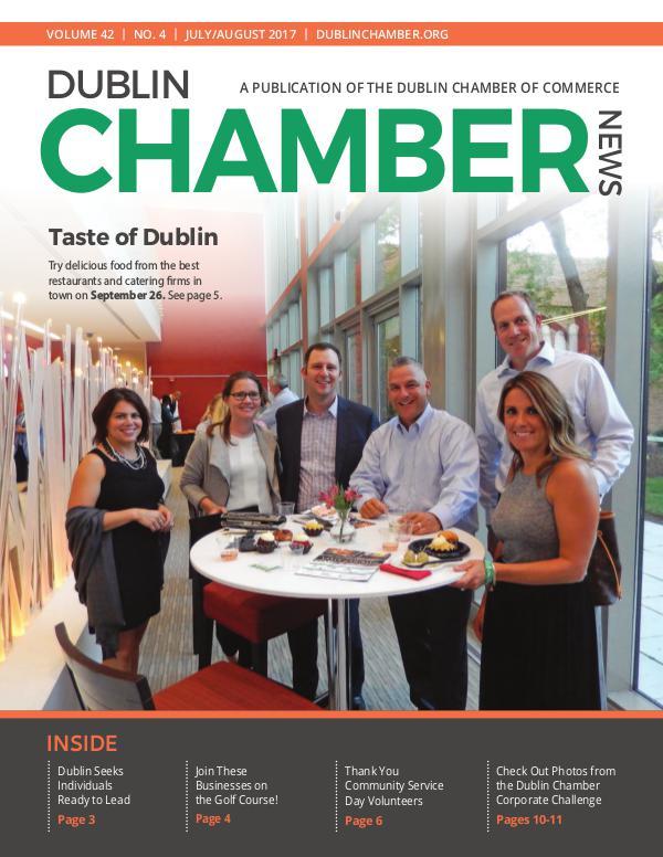 Dublin Chamber July August 2017 News Magazine DCCJulyAugNewsOnlineN