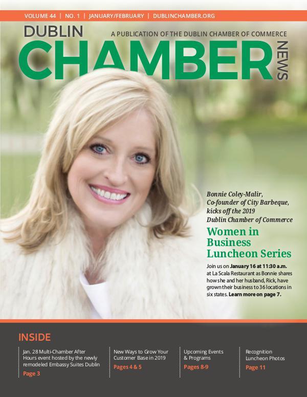 Dublin Chamber 2019 January February Magazine DCCNewsJanFeb19FinalONLINE