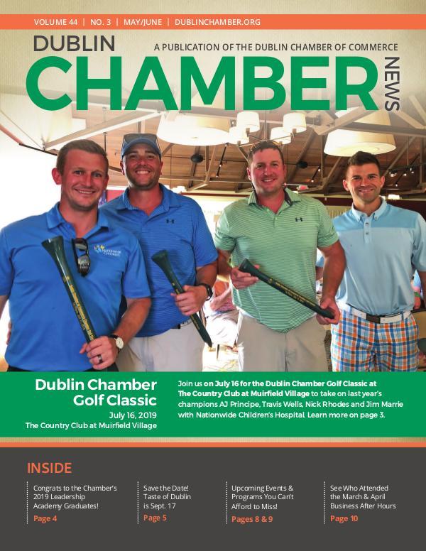 Dublin Chamber May June 2019 Magazine DCCNewsMayJune2019ONLINE