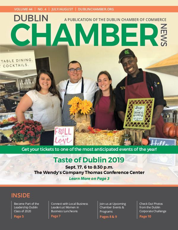 Dublin Chamber Magazine July August 2019 DCCNewsJulyAug2019Online2