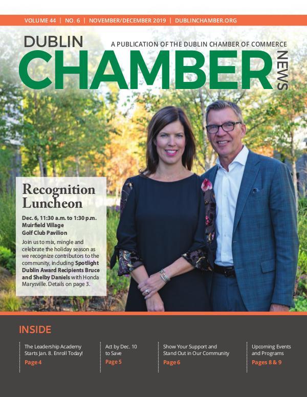 Dublin Chamber November December 2019 Magazine DCCNewsNovDec2019Online
