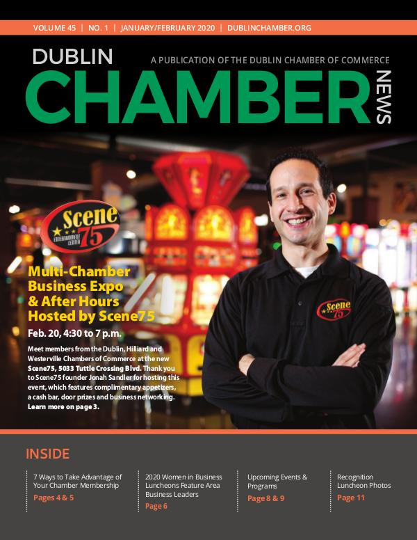 January February 2020 Dublin Chamber News DCCNewsJanFeb2020ONLINE