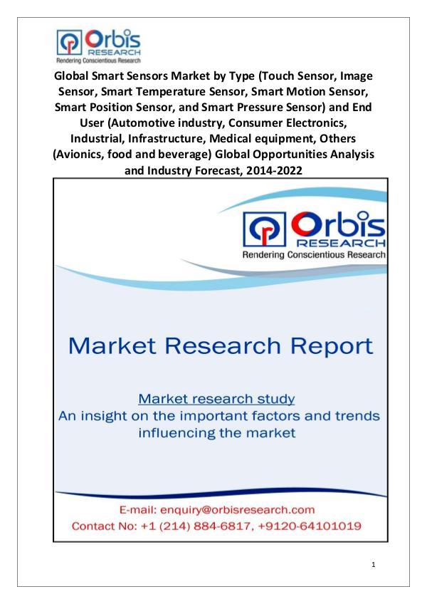 Smart Sensors Market Globally & in China