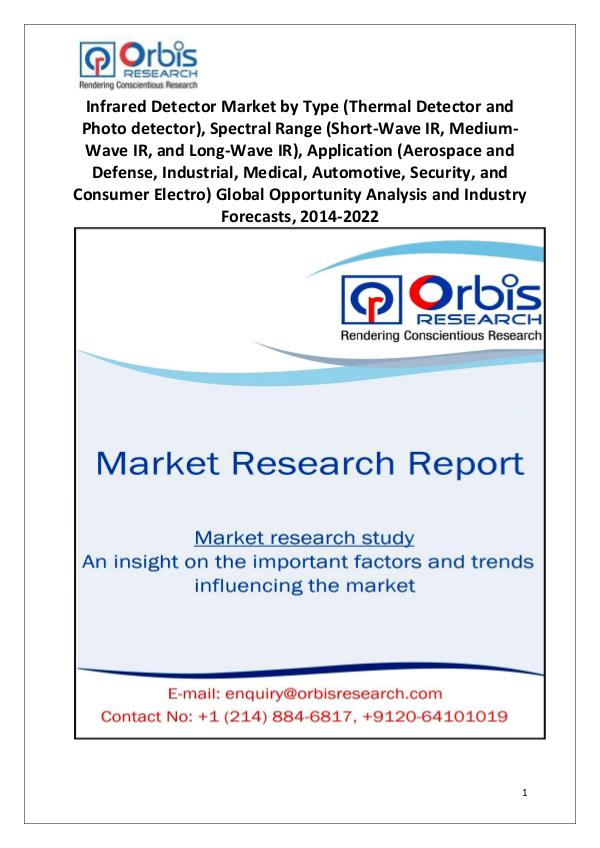 Market Research Reports Worldwide Infrared Detector Industry 2014-2022