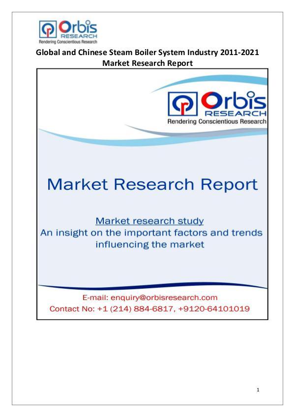 Global & Chinese Steam Boiler System Market 2016-2