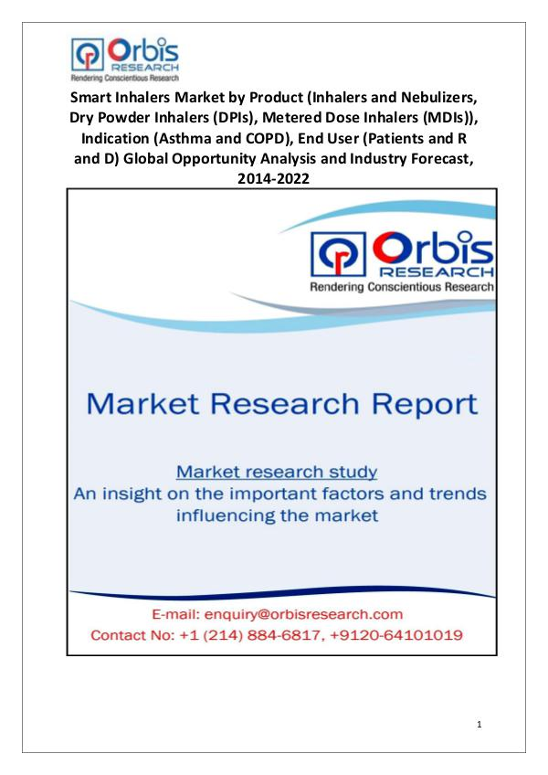 Market Report Study Globally Smart Inhalers Market 2014