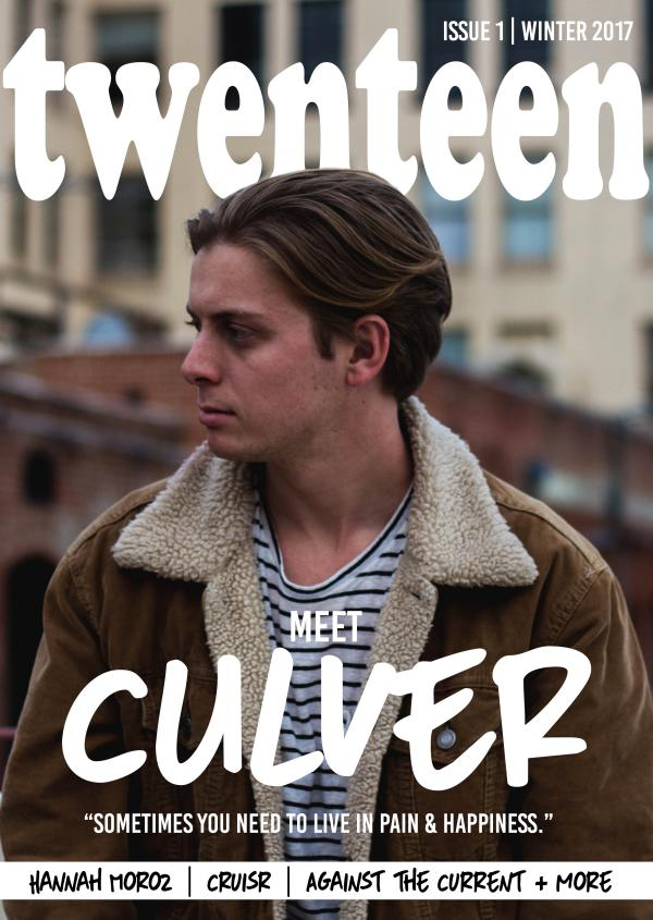 Unfazed Magazine Winter 2017 - Ones to Watch