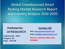 Crowdsourced Smart Parking Market 2016 Industry Analysis