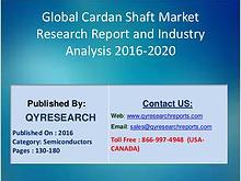 Cardan Shaft Market Global 2016-2021 Forecast Report
