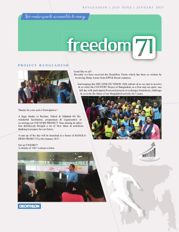 Freedom71 2nd Issue
