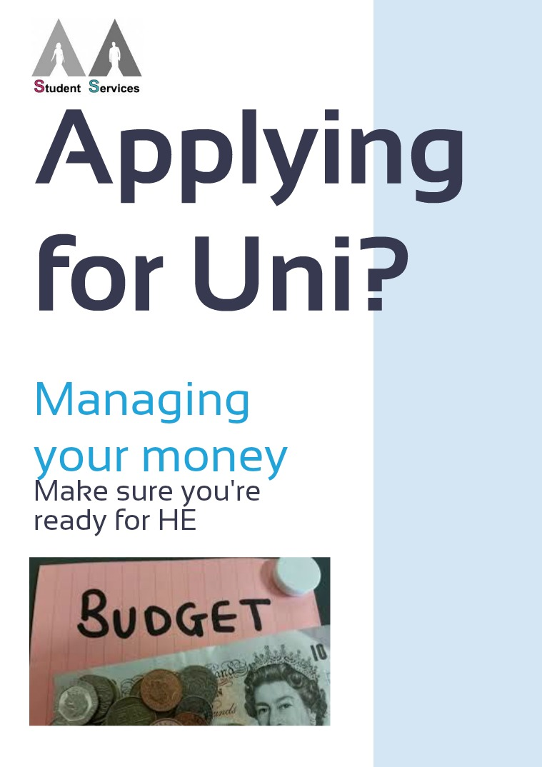 Applying for Uni - Managing Your Money 1