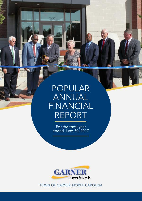 Popular Annual Financial Report - 2017 For fiscal year ending June 30, 2017