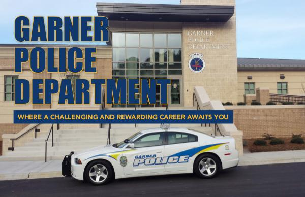 Garner Police Department Recruitment Brochure Fall 2018