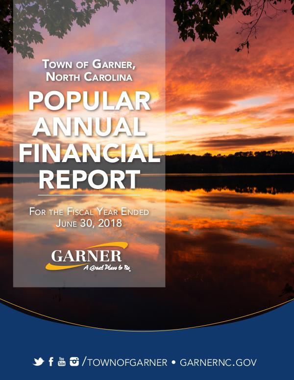 2018 Popular Annual Financial Report For the fiscal year ending June 30, 2018