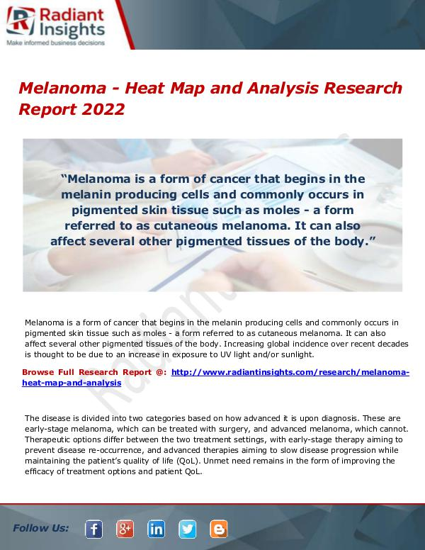 Research Analysis Reports Melanoma - Heat Map and Analysis