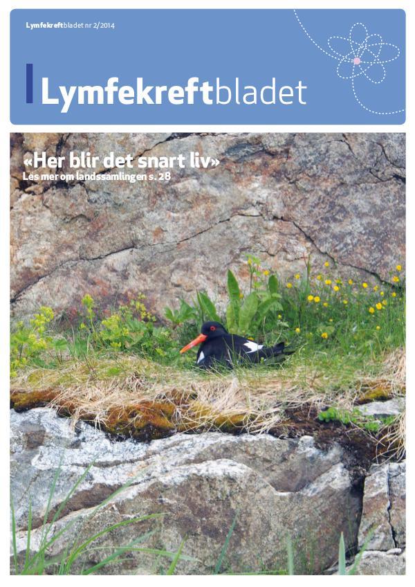Lymfekreftbladet 2/2014 2/2014