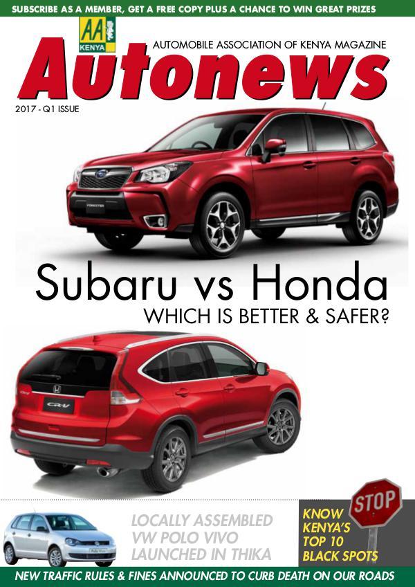 Autonews Magazine - Edition: Q1 2017 AutoNews edition 1, 2017
