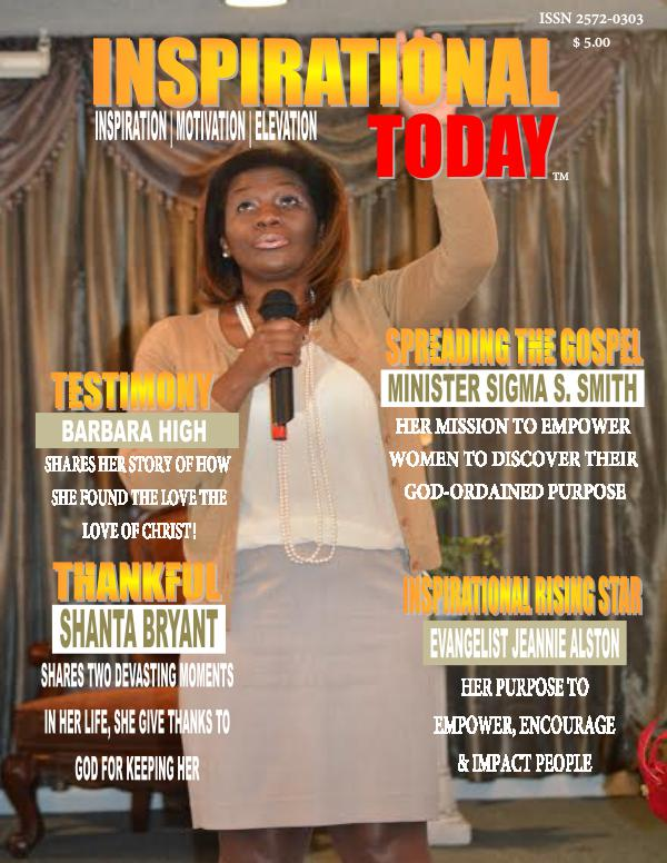 Inspirational Today Quarterly Magazine Issue. 02 Inspirational Today Quarterly Magazine
