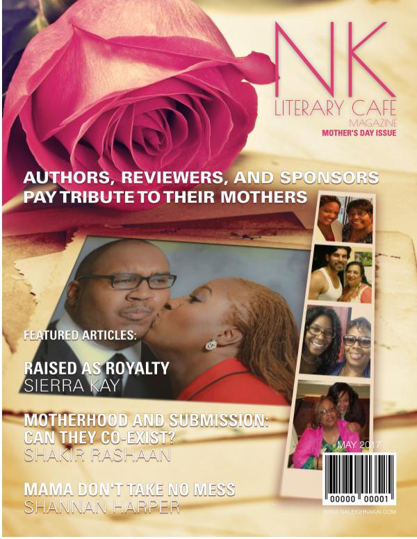 Naleighna Kai's Literary Cafe Magazine May - Mother's Day Issue