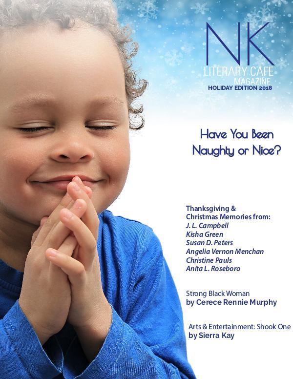 Naleighna Kai's Literary Cafe Magazine Holiday NK LCM 2018 Final