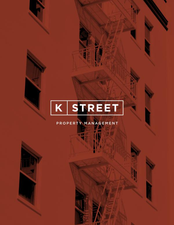My first Magazine K Street Property Management Brochure