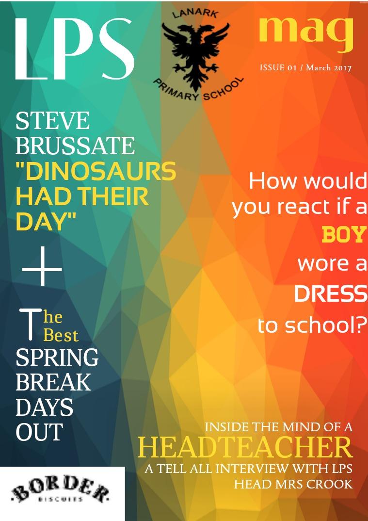 My first Magazine .